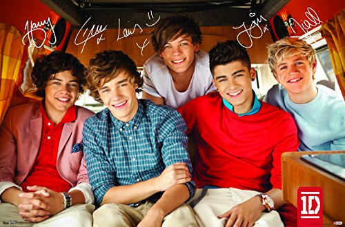 """Trends International Wall Poster One Direction Bus 22.375"""" x 34"""""""