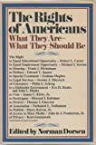Rights of Americans, Norman, ed. DORSEN, 0394467906