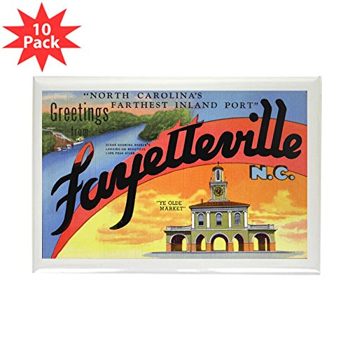 CafePress - Fayetteville North Carolina Greetings Rectangle Ma - Rectangle Magnet, 2