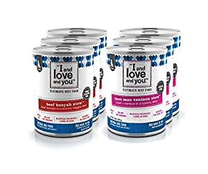 "I and love and you"" Grain Free Canned Dog Food"