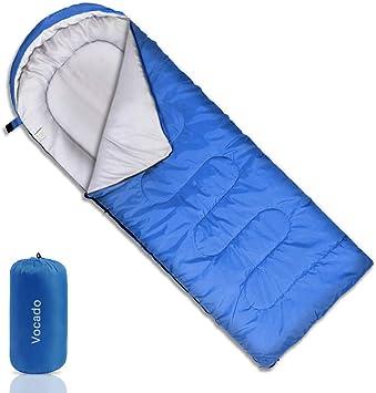 Amazon.com: Saco de dormir Vocado, saco de dormir con doble ...