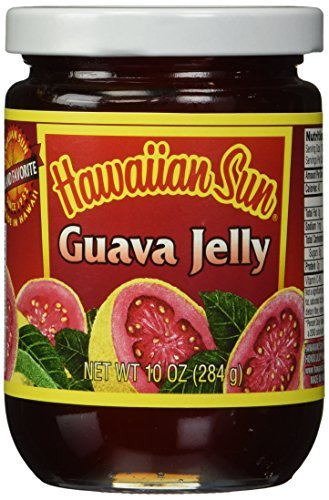 Hawaiian Sun Guava Jelly (Made in Hawaii) 10 Oz by Hawaiian Sun Products Inc. (Hawaiian Sun Guava Jelly compare prices)