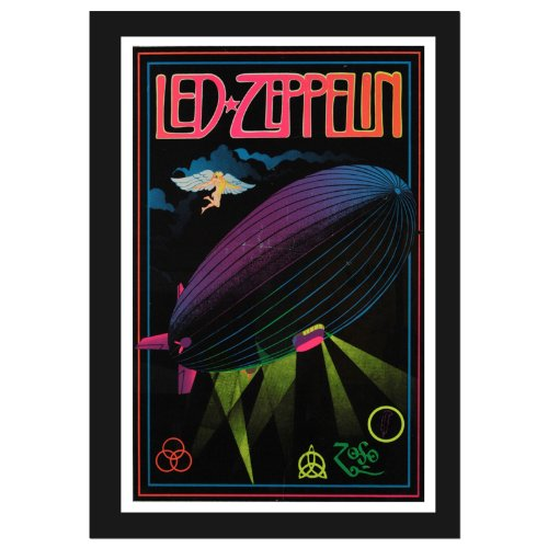 NEOPlex Led Zeppelin Magic Vertical Flag