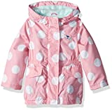Carter's Baby Girls Fleece Lined Anorak Jacket, Pink Dot, 18M
