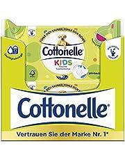 Cottonelle Återfyllningspaket för barnens fuktiga toalettservetter 12 paket med 42 våtservetter