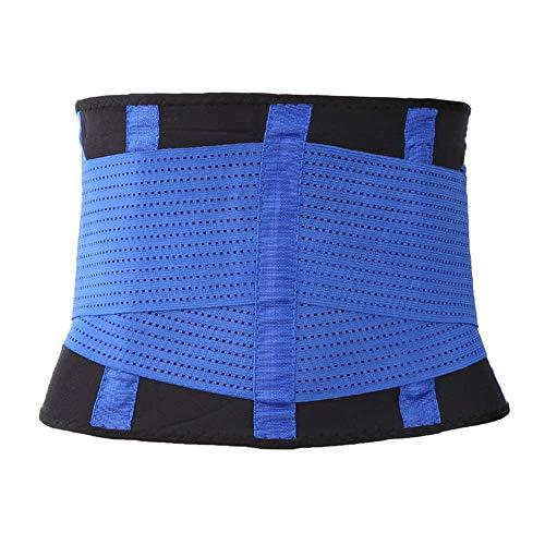 Vita Cincher Girovita Doppia Corpo Cintura Pancia Formatore Donna XXL Trainer Trimmer Blue Sostegno Regolabile Dimagrante YYQ EzxwYfBE