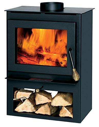 Summers Heat 50-SVL17 Wood Burning Stove With Blower Window 8,00-1,200 Square Foot
