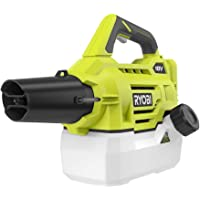 Ryobi ONE+ 18-Volt Lithium-Ion Cordless Fogger/Mister with 2.0 Ah Battery + Charger Included