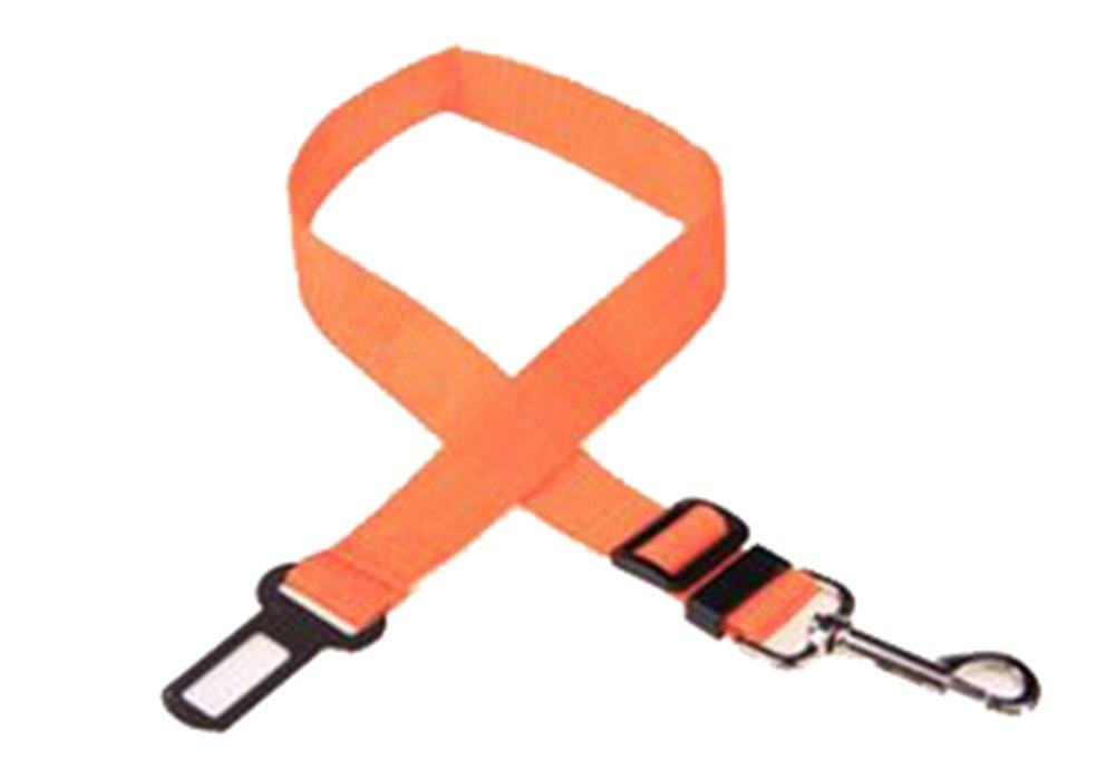 Westeng Pet Dog Car Seat Belt Pet Safety Leads Restraint Harness Adjustable Elastic Nylon Seat Belt Adapter SPSUDKQ18315