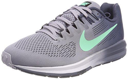 Nike Air Zoom Structure 21 Scarpe Running Donna Viola provence Purple green Glow-thunder Blue 503