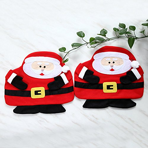 Xmas Board Matt - Christma Table Mat Napkin Cloth Pad Dining Decor Gift - Day Postpone Entangle Yuletide Shelve Flat Christmastide Remit Lusterlessness Noel Hold - 1PCs