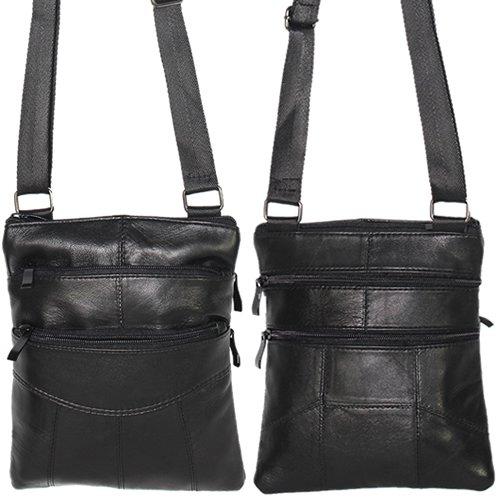 Herren Tasche Umhängstasche Schultertasche Bag Echt Leder Handtasche UYdAYdh