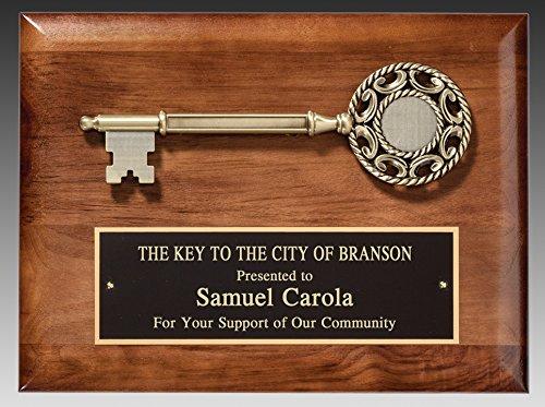 Key to the City Award Plaque