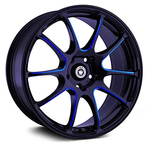 Konig Illusion Black Ball Cut Blue Wheel