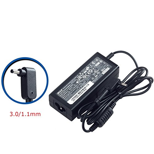 - SANISI ACER 19V 2.37A 45W 3.0/1.1mm Small Pin AC Adapter for ACER Aspire One Cloudbook AO1-131 AO1-131 AO1-431 Chromebook 11 C730 Chromebook R 11 C738T Chromebook 13 C810