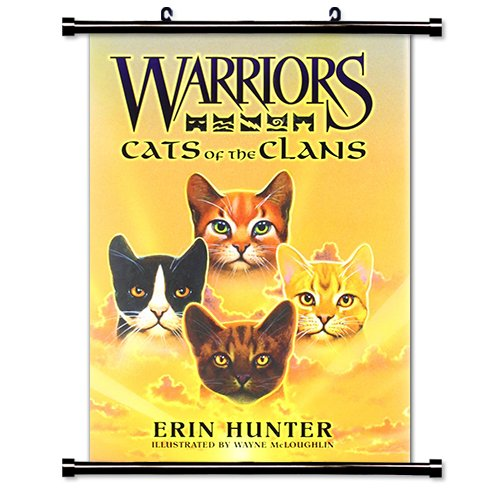 warrior cats scroll poster