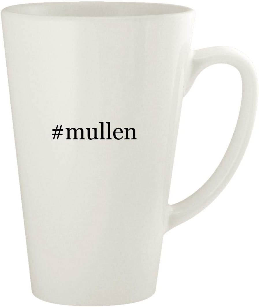 #mullen - 17oz Hashtag Ceramic Latte Coffee Mug Cup, White 51zj2Bk5EQkL