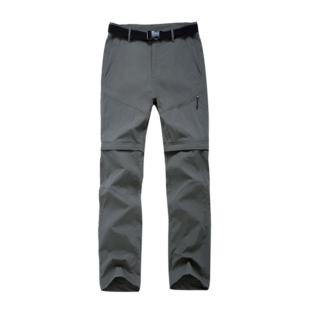 LANBAOSI Pantalon de Randonn/ée Convertible Femme Pantalons Ext/érieure Imperm/éable