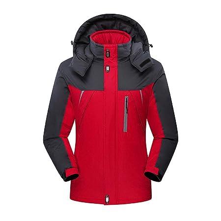 Unisex Couple sweater Mens Mountain Ski Jacket with Waterproof Windproof  Rainproof Outdoor Activities Warm Snowboard Hiking b85327b6e