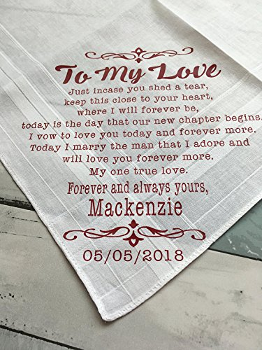 Amazon Custom Bride To Groom Wedding Gift Personalized Groom