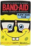 Band-Aid Childrens SpongeBob SquarePants AdhesiveGlow in the Dark Bandages-20ct, Assorted Sizes