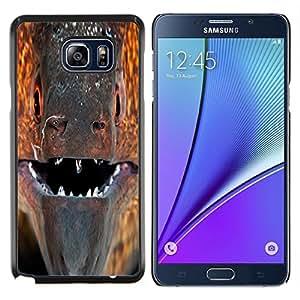 YiPhone /// Prima de resorte delgada de la cubierta del caso de Shell Armor - Naturaleza Hermosa Forrest Verde 11 - Samsung Galaxy Note 5 5th N9200