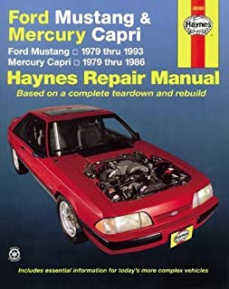 ford mustang 1989 93 chilton total car care series manuals rh amazon com Owners Manual for Ford Mustang Owners Manual for Ford Mustang