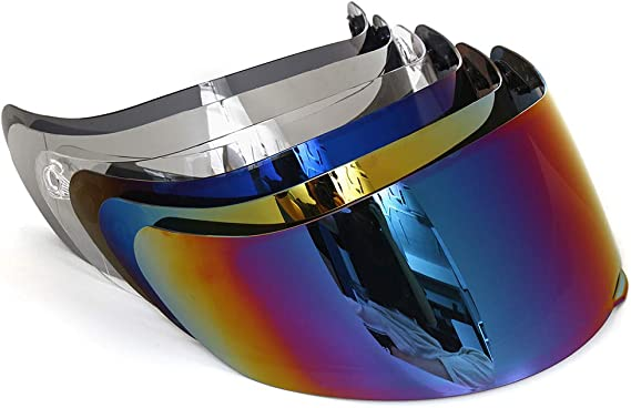 Motorrad Windschutz Helm Objektiv Visier Vollgesichts Fit Für Agv K1 K3sv K5 Baumarkt