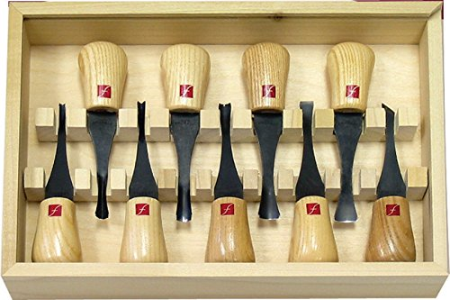 Flexcut carving tools beginners palm set gouges for