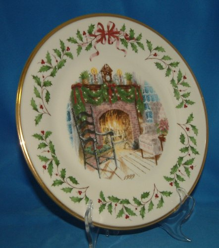 Lenox 1999 Home for the Holidays Collector Plate
