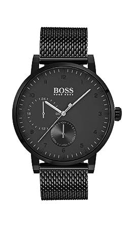14690026f44 Hugo Boss Hommes Multi-cadrans Quartz Montres bracelet avec bracelet en  Acier Inoxydable - 1513636