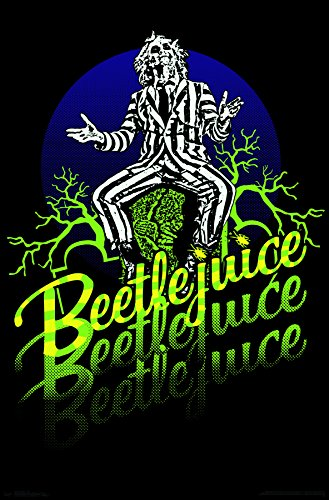 Trends International Beetlejuice Neon Wall Poster, 24.25'' x 35.75'', Multicolor by Trends International