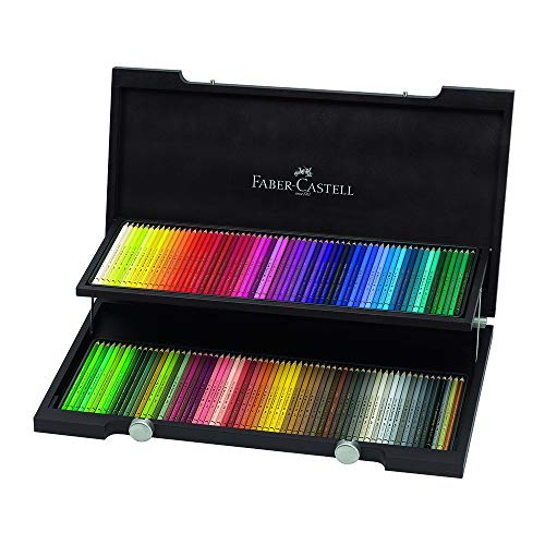 Polychromos 120 Pencil Wood Box Set for sale  Delivered anywhere in USA