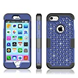 iphone 4 belkin grip edge - iPhone 7 Case,Darmor Shop [Drop Protection] [Heavy Duty]3in1 Hybrid Dual Layer Armor Defender Case Hard PC Silicone Full Body Protective High Impact Cover Case for iPhone 7( 4.7 inches)