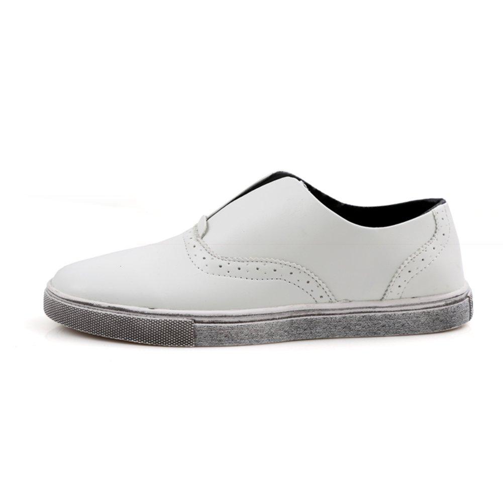 Zapatos casuales de verano/ Le Fu/Zapatos de conducción/ zapatos haba zapatos coreanos marea/Los zapatos de hombre perezoso del pedal-A Longitud del pie=26.3CM(10.4Inch) oXadfY