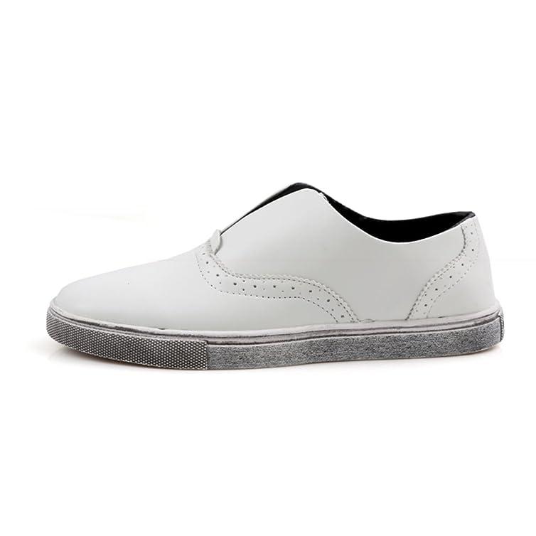 Zapatos casuales de verano/ Le Fu/Zapatos de conducción/ zapatos haba zapatos coreanos marea/Los zapatos de hombre perezoso del pedal-A Longitud del pie=26.3CM(10.4Inch) 3ZUrX
