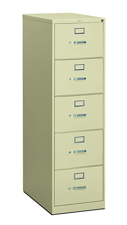 Superbe HON The Company P.L HON315CPL 310 Series Vertical File Cabinet Legal Width, 5  Drawers,