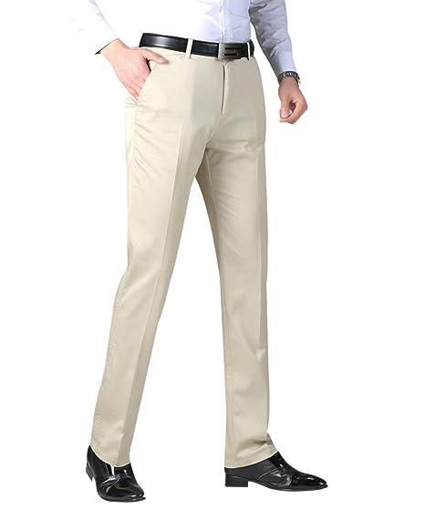 Men S Suit Pants Regular Fit Slim Fit Chinos Formal Office Chic