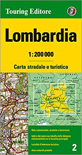Cartina Dettagliata Lombardia.Amazon It Lombardia 1 200 000 Ediz Multilingue Lingua Inglese Aa Vv Libri
