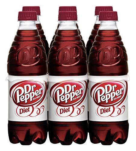 (Diet Dr Pepper, .5 L bottles, 6 count)