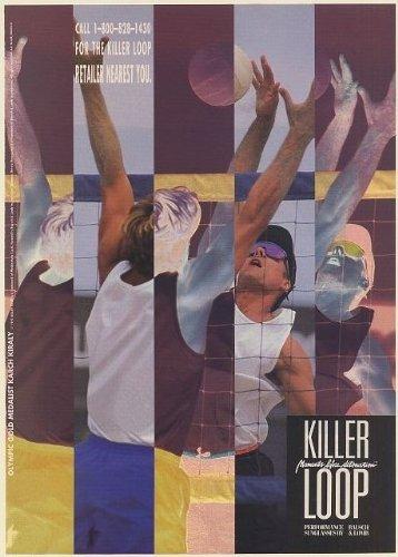 1991 Olympic Gold Volleyball Karch Kiraly Killer Loop Sunglasses Photo Print Ad (Memorabilia) - Killer Sunglasses Loop