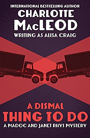 book cover of A Dismal Thing to Do