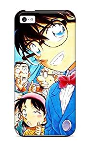 Awesome ZRCyzQd2022VdTSy ZippyDoritEduard Defender Tpu Hard Case Cover For Iphone 5c- Detective Conan