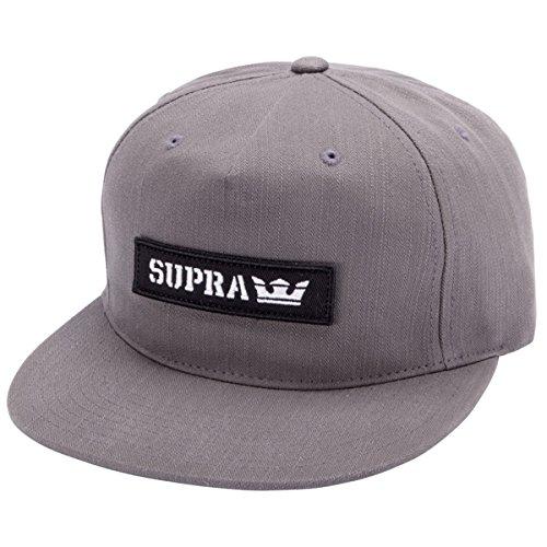 (Supra Mens Mark Patch Snap Adjustable Hat One Size Olive)