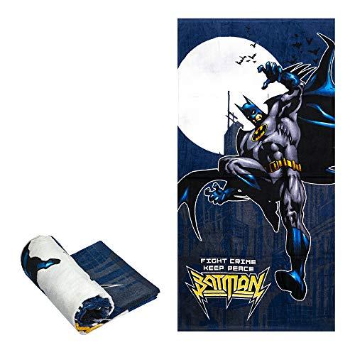 JPI Beach Towel - Batman Fight Crime - Beach Towel Oversized 60