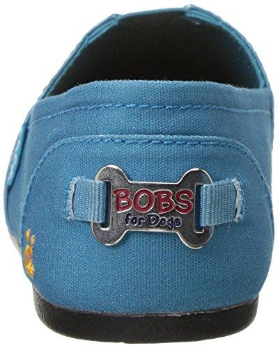 Skechers Bobs Från Kvinnor Bobs Plysch-outpaws Balett Platt Blågrön