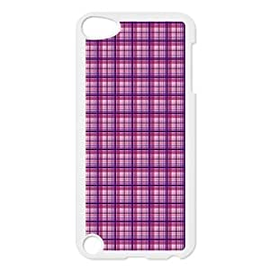 Custom Check Pattern Back Cover Case for ipod Touch 5 JNIPOD5-032