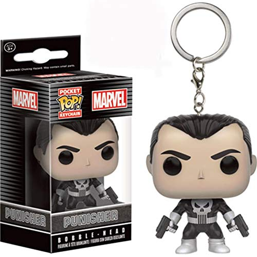 Funko- Punisher Llavero Figurina, Multicolor (7513)