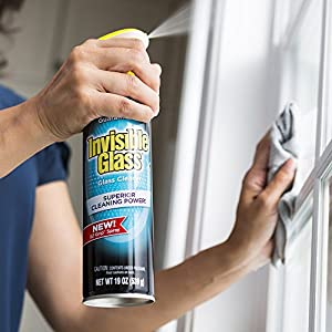 Invisible Glass 91160 Premium Glass Cleaner, 19 fl. oz, 1 Pack (with EZ Grip Can)