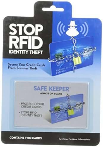 Safe Keeper Men's RFID Blocking Card